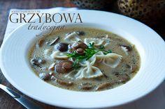 Zupa z prawdziwków, podgrzybków lub maślaków, najlepsza grzybowa