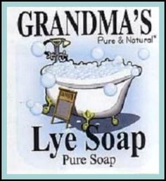 Grandma's Homemade Lye Soap (Recipe Included) Other than for washing out our mouths, Grandma's homemade lye soap had many uses.