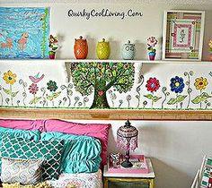 mural-bohemian-little-girls-room-bedroom-ideas-diy-home-decor.jpg (280×250)