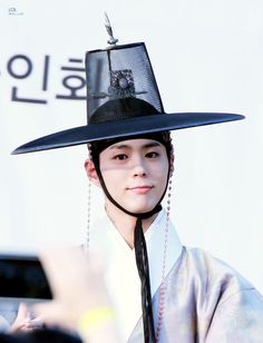 Park Bo Gum at Moonlight Drawn By Clouds fansign event. © on pic