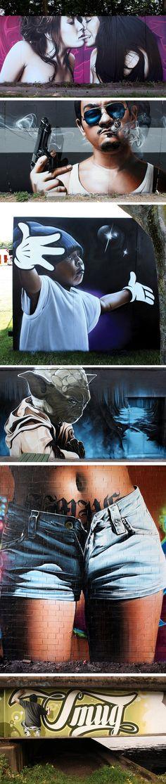 SmugOne - fucking awesome artist  http://www.flickr.com/photos/smug_one/