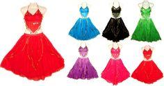 Bauchtanz Kostüm Kleid Rock Belly dance Outfit Bollywood orient Münztuch Tuch in Sport, Weitere Sportarten, Tanzen | eBay