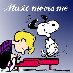 Music moves me