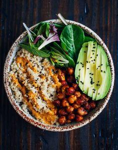 13 Healthy Buddha Bowl Meals Anyone Can Make via @PureWow