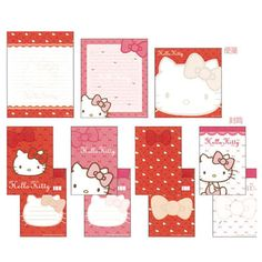 Hello Kitty red 2013