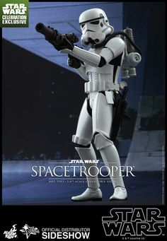 The Spacetrooper Sixth Scale Figure Hot Toys Celebration Exclusive is now available at Sideshow.com for fans of Star Wars Episode IV A New Hope!