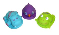 Tommee Tippee® Surfee Squirtee #tommeetippeeau #baby #newborn #babybath #bathtime #hippo #frog #fish #purple #blue #green #bathplay