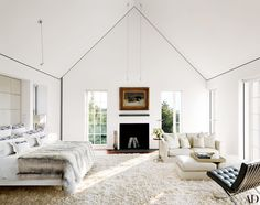 Cozy Bedrooms with Beautiful Fireplaces