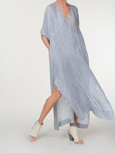 All Dresses & Tunics Simple Dresses, Casual Dresses, Summer Dresses, Abaya Fashion, Fashion Dresses, Caftan Dress, Linen Dresses, Dress Patterns, Designer Dresses