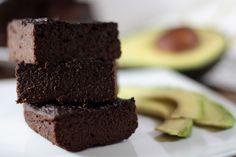 Avocado and pure cocoa brownies/Brownies de aguacate y cacao puro