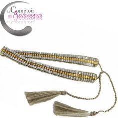 Bracelet Hippie Chic, esprit bohème, Made in Bali #hippiechic #bracelets #bali #bracelets boheme http://www.comptoirdesaccessoires.com/6917-3283-thickbox/bracelet-hippie-chic-esprit-boheme-de-bali-pour-ce-bracelet-de-perles-enlacees-couleurs-gris-perle.jpg