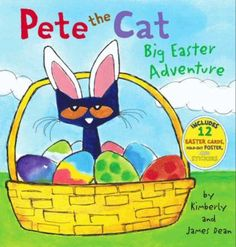Pete the Cat: Big Easter Adventure by Kim Dean. ER DEAN.