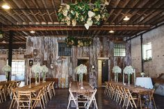 Rustic & simplistic vibes at this North Carolina Mountain Wedding // Photographer: Michelle Lyerly // Venue: The Hackney Warehouse #weddingvenue #wedding