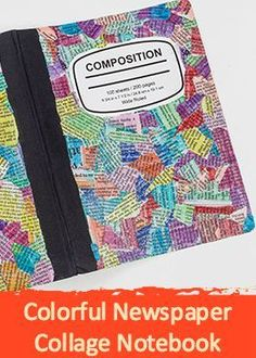 Turn your boring back to school notebooks into something unique and creative!