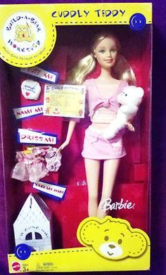 Barbie Build a Bear Doll New in Box Collectible | eBay