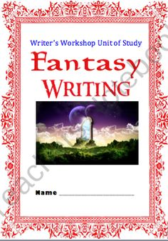 Fantasy Reading AND Writing BUNDLED units Workshop Approach product from TIPS4Teachers on TeachersNotebook.com