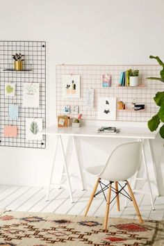 Wire Wall Grid Shelf by Urban Outfitters
