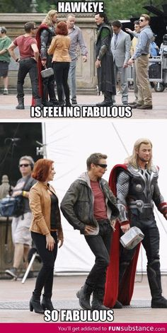 I love these people!! XD and THOR'S FACE!!!