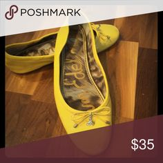 """Felicia Ballet Flat """"Sunset Yellow"""" Patent Leather flats. I'll take offers and ship within 24 hours! Circus by Sam Edelman Shoes Flats & Loafers"""