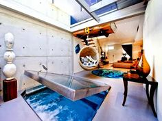 The Flying Tortoise: An Indoor Underfloor Hot Tub. Ideal For Tiny Home Dwellers...