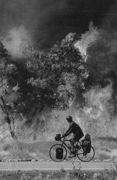 Solitary Biker....