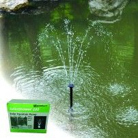 PondXpert SolarShower 200 Solar Pond Pump with Battery and LED Lights.NEW Lithium Battery. Water Fountain Pumps, Pond Pumps, Solar Pond, Solar Water, Water Features In The Garden, Garden Features, Sight & Sound, Solar Lights, Water Garden