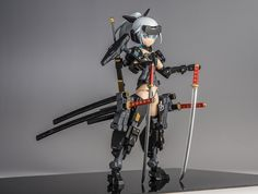 フレームアームズ・ガール 迅雷 サブ画像1 Vinyl Figures, Action Figures, Frame Arms Girl, Anime Toys, Gundam Model, Anime Figures, War Machine, Ball Jointed Dolls, Cool Toys