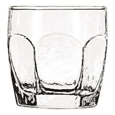 The Libbey 2485 Chivalry 10 oz Rocks Glass has a hexagonal shape and textured panels gives customers a better grip. Has a thick bottom to help keep glass from tipping over when being picked up or setting back down. Use for serving mixed drinks, juices and beverage drinks.
