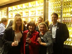 Guests enjoying the Adelphi Grill opening party!
