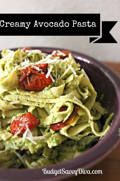 Creamy Avocado Pasta Recipe   Budget Savvy Diva