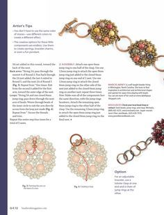 Beadwork quickeasy oct nov 2011 by Carmen Maldonado - issuu