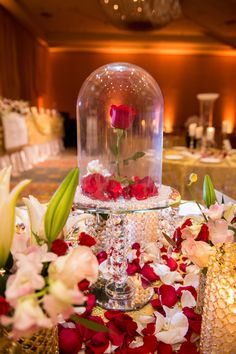 You Have to See This Ultimate Beauty and the Beast Wedding