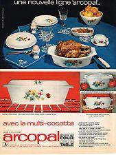 PUBLICITE ADVERTISING  1968   ARCOPAL   la nouvelle ligne