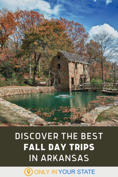 Spend time in nature this fall and check out one or more of these fantastic local Arkansas day trips. You'll find some of the state's most beautiful places on this list including mountains, lakes, national parks and forests, waterfalls, and historic mills. Travel with family and friends for an outdoor autumn adventure. Vacation Destinations, Dream Vacations, Vacation Spots, Vacation Ideas, Cool Places To Visit, Places To Travel, Places To Go, Beautiful Places, Amazing Places