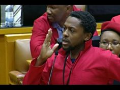 This is not Trevor Noah's show EFF ndlozi telling Zuma