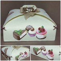 Sfumato - Categoria: FELTRO Cute Box, Big Shot, Box Design, Gift Bags, Happy Holidays, Packaging Design, Paper Cutting, Applique, Decorative Boxes