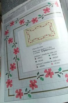 Easy Cross Stitch Patterns, Simple Cross Stitch, Cross Stitch Borders, Biscornu Cross Stitch, Cross Stitch Embroidery, Free To Use Images, Table Covers, Diy And Crafts, Alphabet