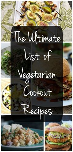 Hosting a cookout or barbecue? Try one of these summer recipes. Both vegetarians and meat eaters will love them!