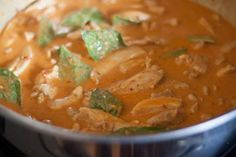 NOTE: An updated version of this recipe appears in my cookbook, The Ancestral Table. Like I had mentioned in my Panang curry paste recipe, Panang (also spelled พะแนง, Penang and Phanaeng) curry is …