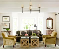 Pin-spiration :: Casual Family Rooms