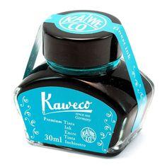 Kaweco Fountain Pen Ink Bottle, Turquoise