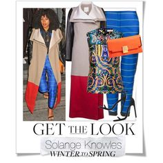 """""""Contest: Winter to Spring with Bold Colors and Prints"""" by renatademarchi on Polyvore"""