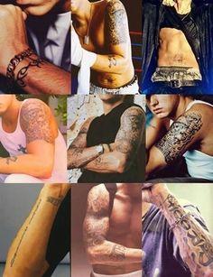 Eminem's tattoos <3