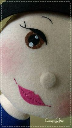 Kate: more sweet eyes, eyebrows, lips, noses, fresh faces Really want excellent helpful hints about crafts? Faces for rag dolls Rag doll -- Click visit link above for more options This post was discovered by Jo Soft handmade toys Doll Eyes, Doll Face, Doll Crafts, Diy Doll, Fabric Dolls, Paper Dolls, Sewing Dolls, Felt Diy, Soft Dolls