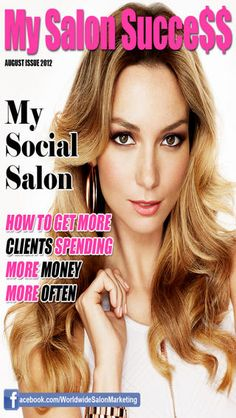 My Salon Success is a monthly multimedia magazine that helps Salon & Spa owners successfully market, run and organise their salons. Including interviews with successful owners, updates on what's working and not in marketing, beauty & hair product & service reviews and hot staffing tips.