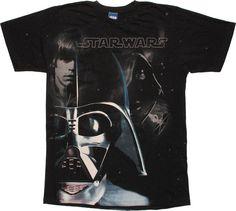 Star Wars Vader Luke Sidious T-Shirt