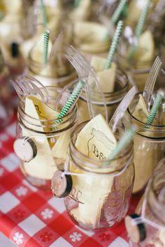 I DO BBQ wedding :: back yard wedding
