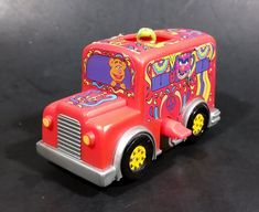 """1999 The Muppets From Space Kermit Wind-Up 3"""" Bus Vehicle Burger King Europe Action Figure - Working https://treasurevalleyantiques.com/products/1999-the-muppets-from-space-kermit-wind-up-3-bus-vehicle-burger-king-europe-action-figure-working #Collectibles #1990s #90s #Nineties #TheMuppets #Muppets #FromSpace #Kermit #Fonzy #Windup #Bus #Buses #Vehicles #Auto #Groovy #Peace #BurgerKing #KidsMeal"""