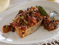 Messina-style fish alla ghiotta