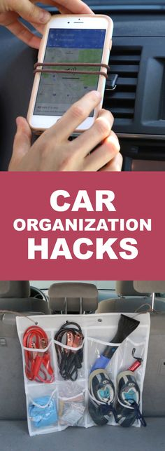 Keep Your Car Tidy With These Genius Hacks